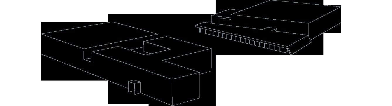 Holding Gebäude Grafik