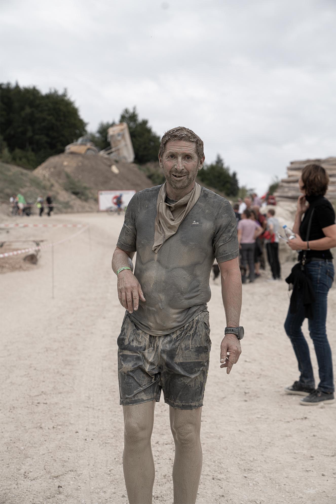 Holding Haufen beim Muddy Älbler